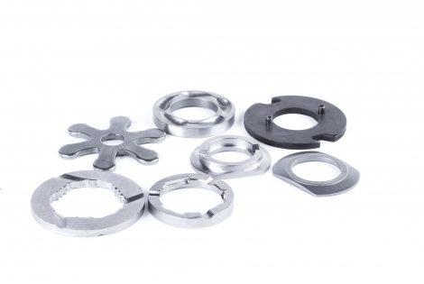 Gris Découpage - Composants mécaniques destinés aux groupes motopropulseurs de formes spéciales ou coniques statiques et dynamiques