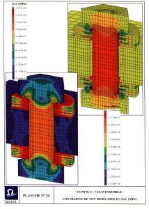 Résultats d'essais en fatigue Gris Découpage démontrant leurs qualités en simulation de situations réelles d'utilisation