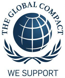 Gris Découpage adhère au pacte Mondial de l'ONU, initiative internationale de promotion de la responsabilité civique des entreprises