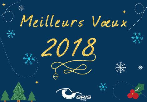 Meilleurs Vœux 2018 - GRIS GROUP