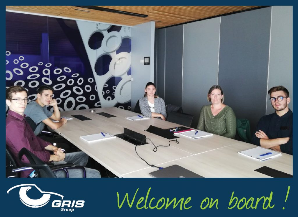 welcome on board GRIS GROUP